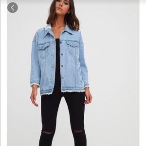 PRETTYLITTLETHING NWOT Denim Jacket